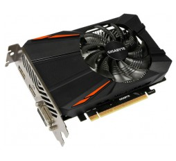 Slika izdelka: GIGABYTE Video Card NVidia GeForce GTX 1050 Ti GDDR5 4GB/128bit, 1290MHz/7008MHz, PCI-E 3.0 x16, HDMI, DVI-D, DP, VGA Cooler