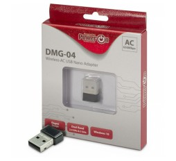 Slika izdelka: INTER-TECH DMG-04 WiFi 5 nano USB adapter