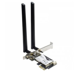 Slika izdelka: INTER-TECH DMG-35 3000 Mbps WLAN AX + Bluetooth PCI express Dual Band mrežna kartica