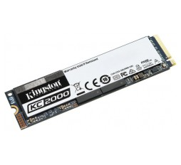 Slika izdelka: Kingston 1000GB KC2000 M.2 2280 NVMe SSD up to 3,200/2,200MB/s EAN: 740617293623