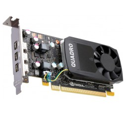 Slika izdelka: NVIDIA Video Card Quadro P620 GDDR5 2GB/128bit, 512 CUDA Cores, PCI-E 3.0 x16, 4xminiDP, Cooler, Single Slot, Low Profile