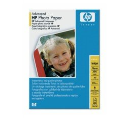 Slika izdelka: PAPIR HP ADVANCED GLOSSY PHOTO ZA DJ, A4, 25 LISTOV, 250g