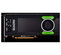 Slika izdelka: PNY NVIDIA Video Card Quadro P4000 GDDR5 8GB/256bit, 1792 CUDA Cores, PCI-E 3.0 x16, 4xDP, Cooler, Single Slot