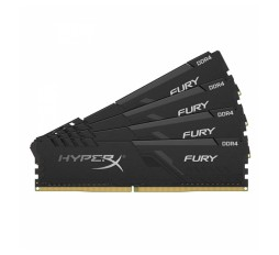 Slika izdelka: RAM DDR4 32GB PC2666 HX FURY BLACK, kit 4x8 GB, CL16, 1Rx8, DIMM